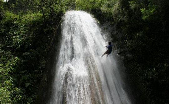 Dehradun Tourist Places to Visit-Tiger Falls
