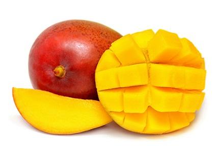 Diet for glowing skin - mangoes
