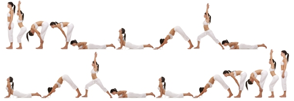Basically Yoga Is All About Stretching Our Body In Different Forms And Meditation Poses Like Surya Namaskar Sun Salutation Dhanurasana Bow Pose