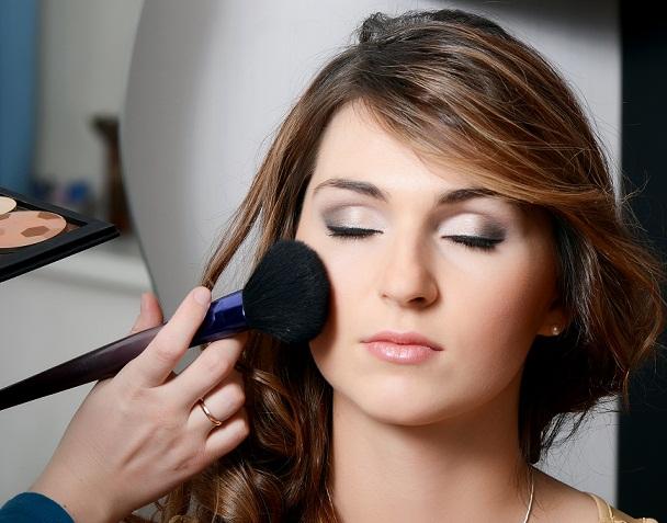 Face makeup wedding