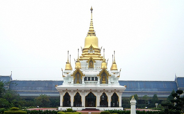 Famous Buddhist Temples in India-Wat Thai Temple