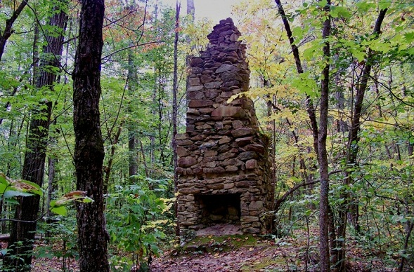 Famous Forest Camping Grounds-Uwharrie National Forest, North Carolina