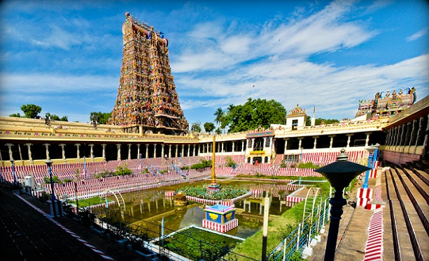 Famous Hindu Temples in India-Meenakshi Temple