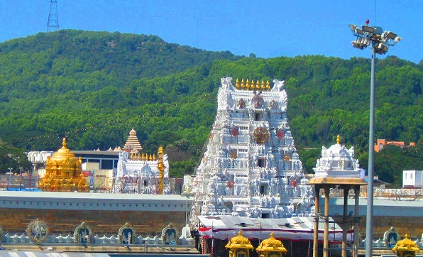 Famous Hindu Temples in India-Venkateshwara Tirupati Balaji