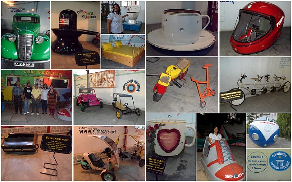 Famous Museums in Hyderabad-Sudha Car Museum