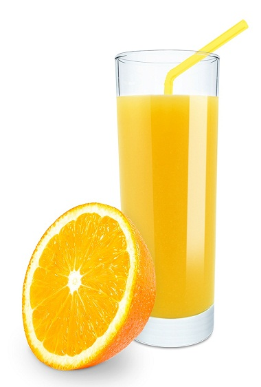 Orange Juice For Face Glow