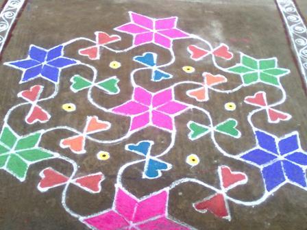 Full Marathi Rangoli Design