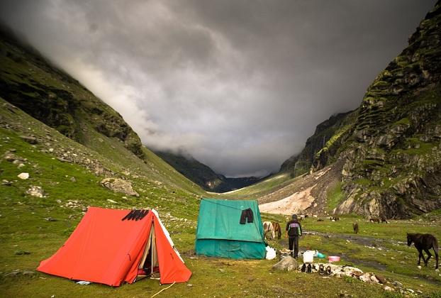 Hampta Pass, Himalayas - India