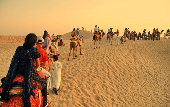 Honeymoon Places in India in February-Jaisalmer