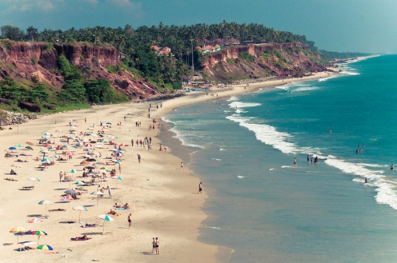 Honeymoon Places in India in February-Varkala