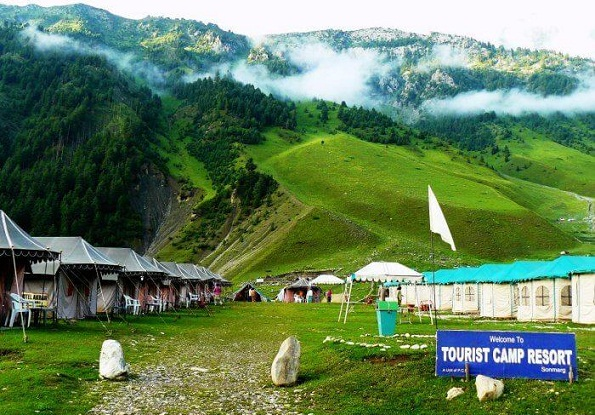 Honeymoon Places in Kashmir-Sonmarg