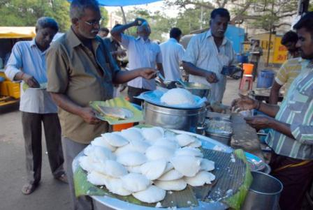 street food in munnar