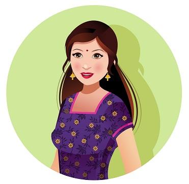 Indian Women Beauty Tips and Secrets - bindi