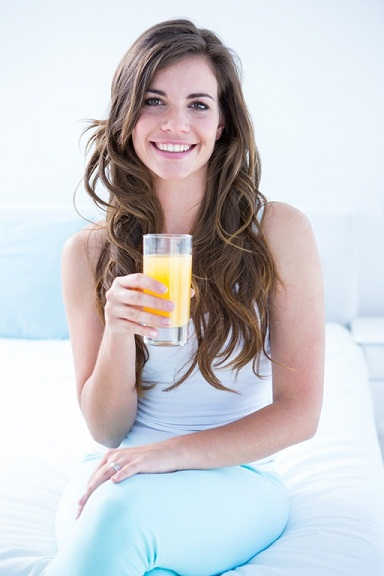 juice for glowing skin
