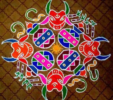 Kerala Rangoli Designs