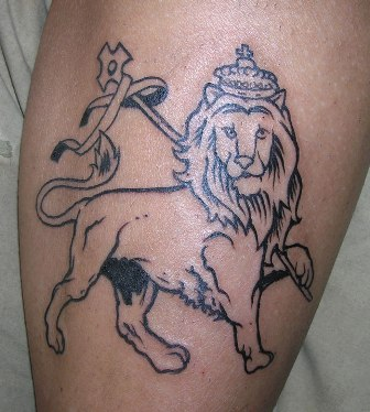 lion animal tattoo designs