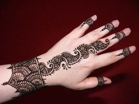 Gujarati Mehndi Designs for Hands