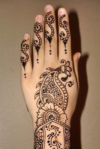 Eid Mehndi Designs for Hands