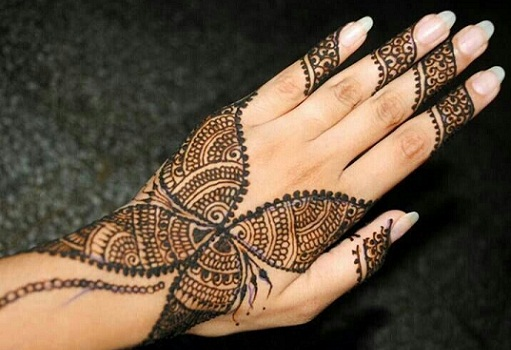 Mehndi For Inner Hand : Henna designs inner hand makedes