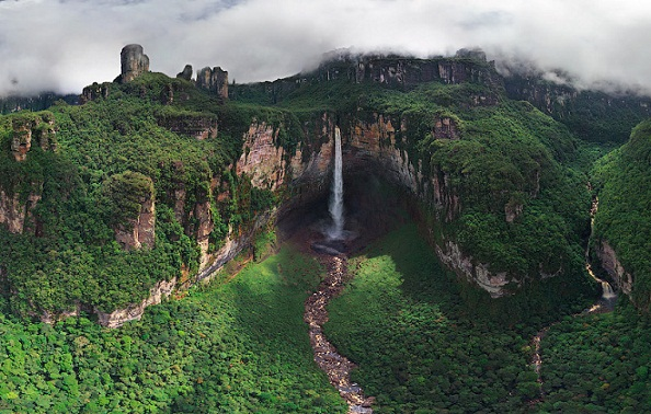 Natural Waterfalls-Angel Falls