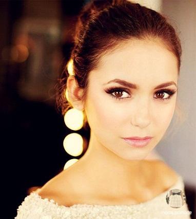 NinaDobrev-eye Makeup
