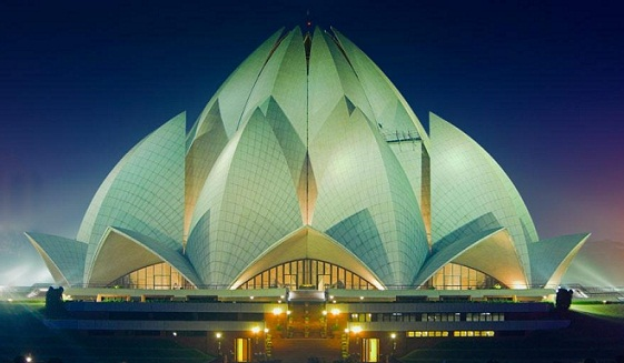 Scenic Places in India-Lotus Temple