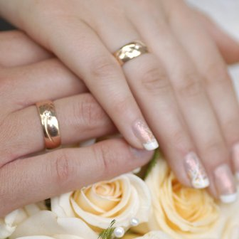 Wedding rings incredible beauty