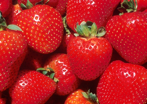 Strawberries mix for oily skin