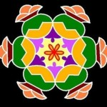 9 Simple and Easy Rangoli Designs Without Dots