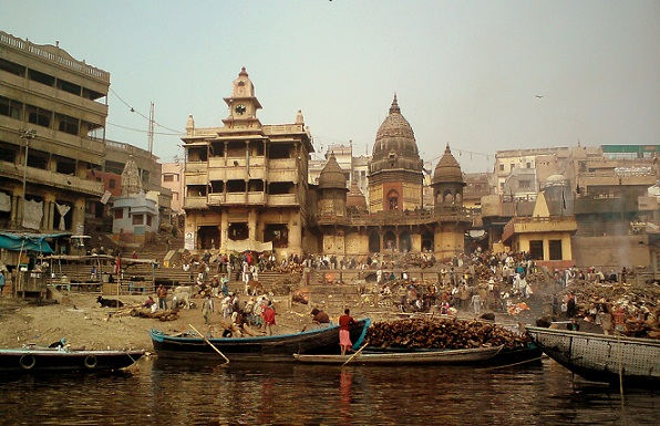 Varanasi Tourist Places to Visit-Manikarnika Ghat