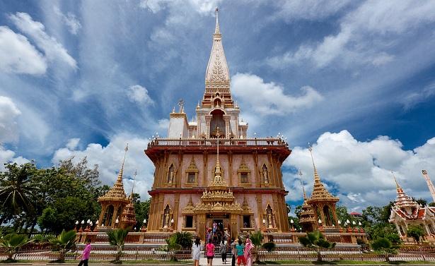 Wat Chalong, Phuket, Thailand