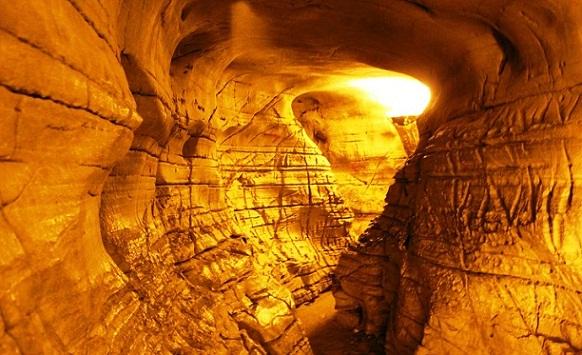 Wonders of Belum Caves - entrance.