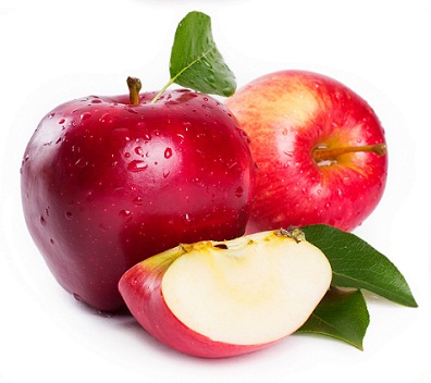 apples glowing skin