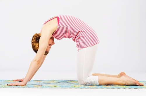 Marjariasana Yoga Pose for Mind Body (Cat Pose)