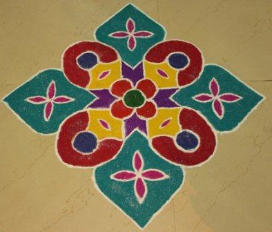 corner rangoli designs8