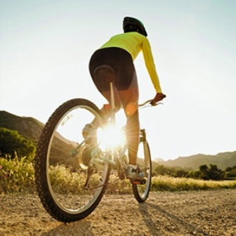 cycleing exercise for reducing belly fat