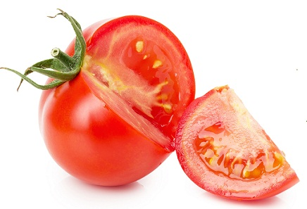 fruit tomato for acne