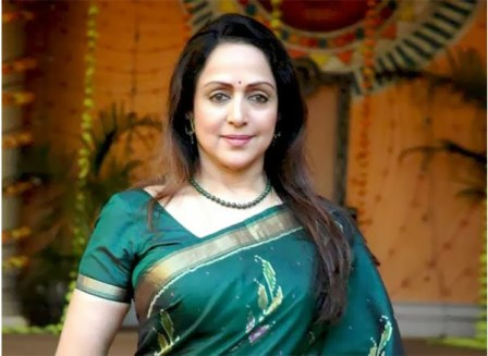 hema malini Make up