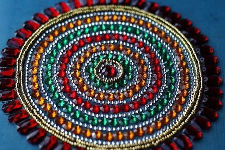 9 best kundan rangoli designs and patterns with images for Home made rangoli designs