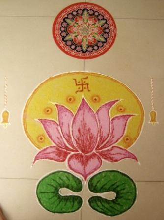 Symbolic Rangoli Design