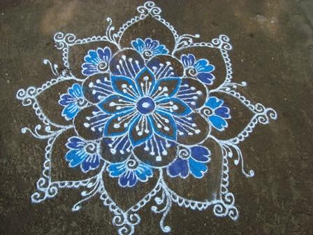 Line Rangoli Designs