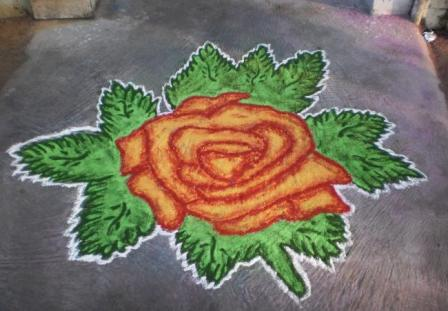 Big Roses Drawings we See a Big Rose Drawn on The