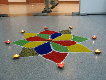 9 Best Small Rangoli Designs Styles At Life