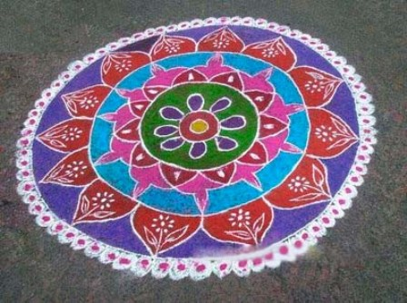 Big Kolam Design