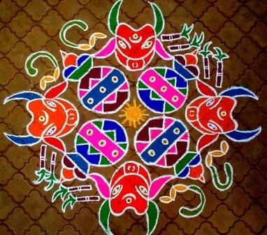 telugu rangoli designs2