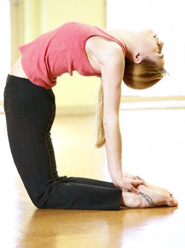 Yin Yoga Camel Pose