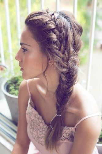 the double fishl braid hairstyle look