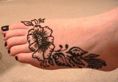 Mehndi Ke Tattoo : Cute and easy black mehndi designs with photos styles at life