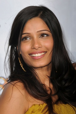 freida pinto beauty tips
