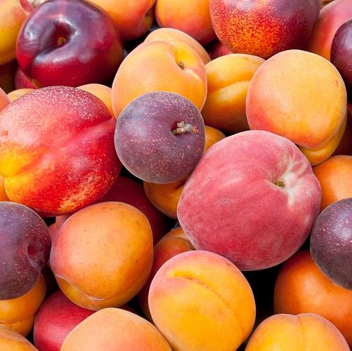Fruits for Hair Growth - Peaches